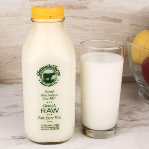 Milk - Claravale Farms Raw Milk