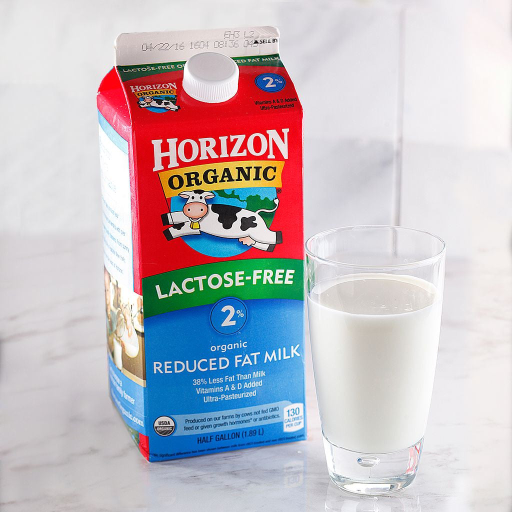 Horizon Organic 2% Lactose Free Milk - Milk and Eggs