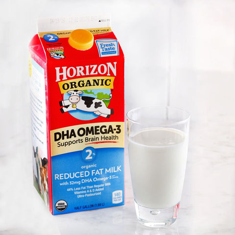 Horizon Organic 2% Reduced Fat Milk w/ DHA Omega 3 - Milk and Eggs - 1