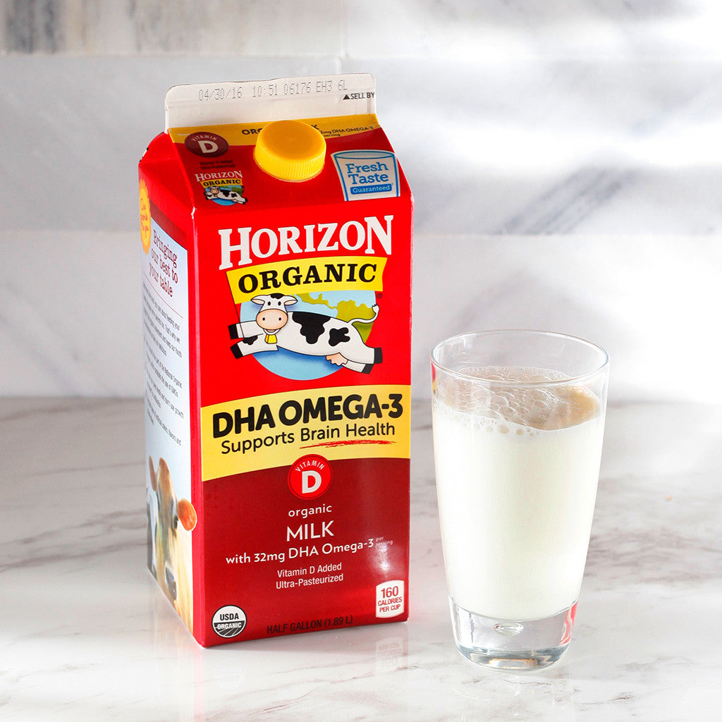 Horizon Organic Whole Milk w/ DHA Omega 3 - Milk and Eggs - 1