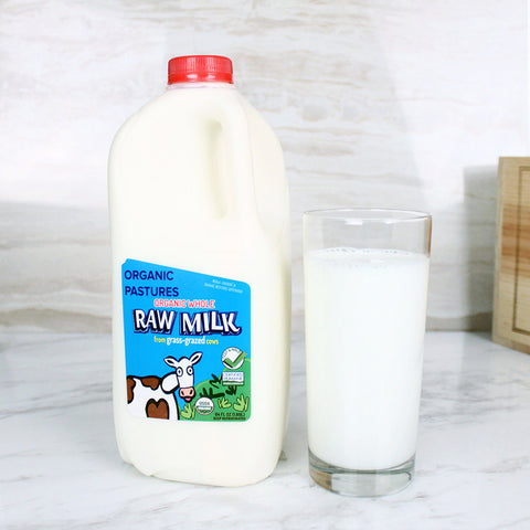 Organic Pastures Raw Whole Milk - Milk and Eggs