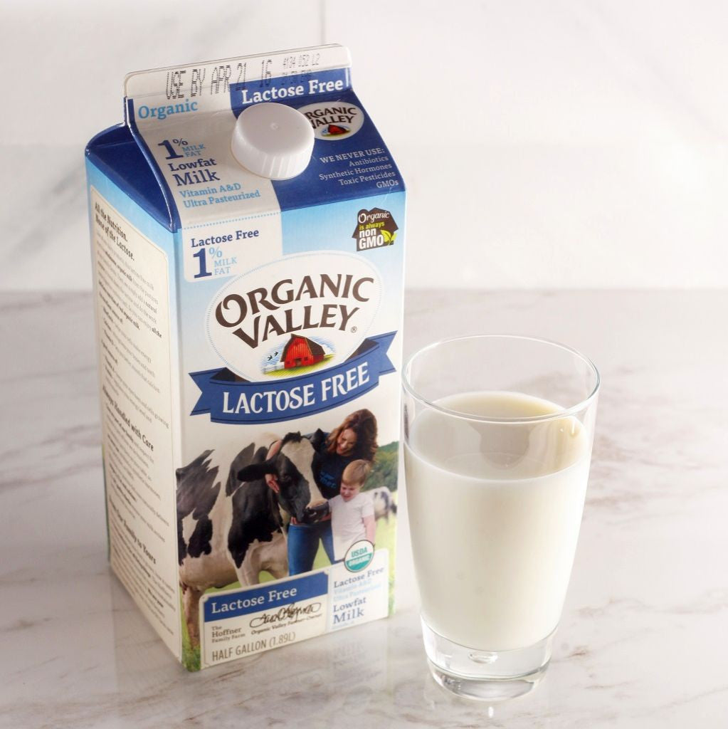 Organic Valley 1% Low Fat Lactose Free Milk - Milk and Eggs - 1