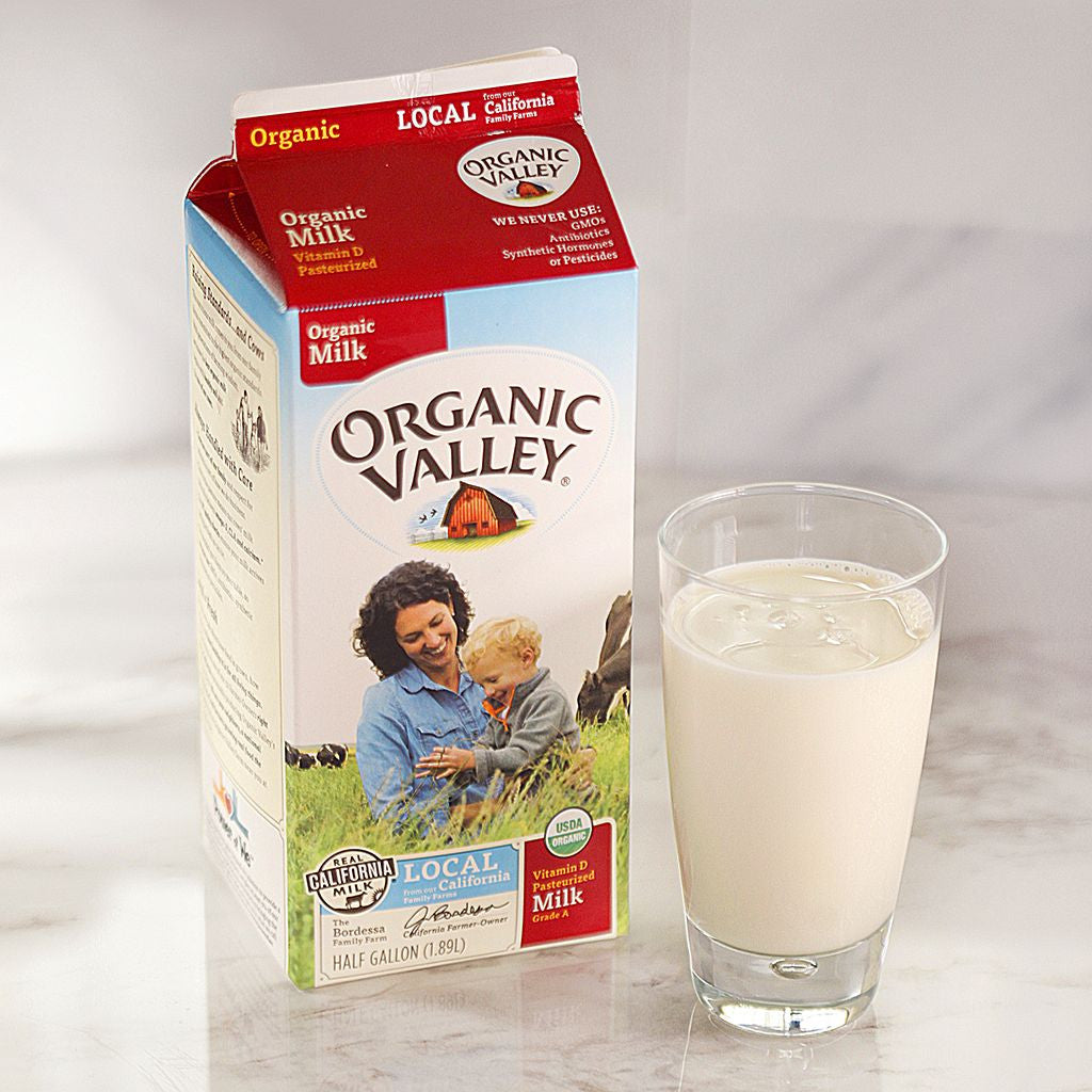 Organic Valley Whole Milk - Milk and Eggs