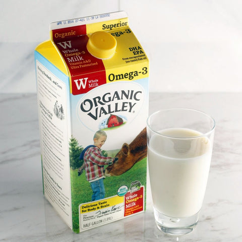 Organic Valley Whole Milk w/ Omega-3 - Milk and Eggs - 1
