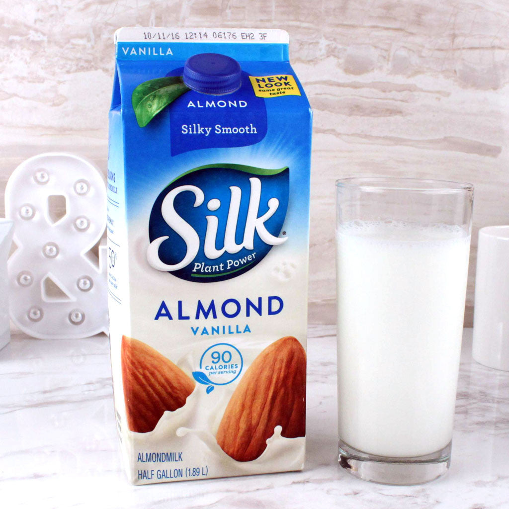 Silk Almond Vanilla Milk - Milk and Eggs - 1