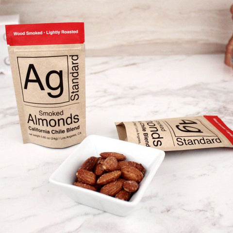Nuts - AgStandard Smoked Almonds California Chile Blend 0.85 OZ