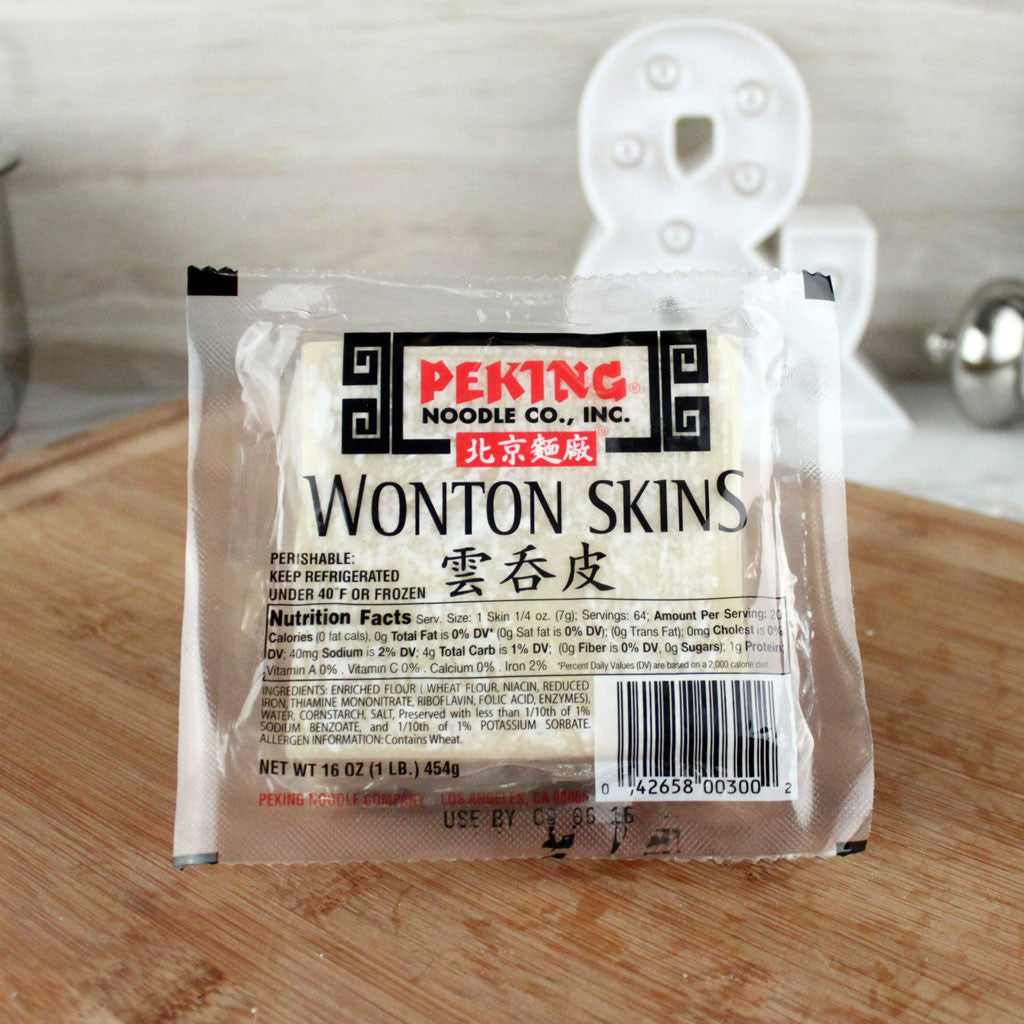 Peking Fresh Wonton Skins - Milk and Eggs