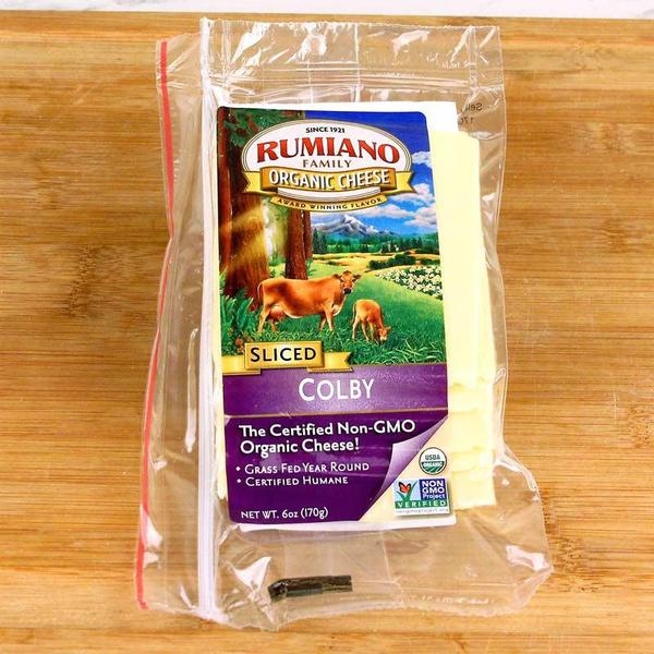 Rumiano Sliced Organic Colby Cheese
