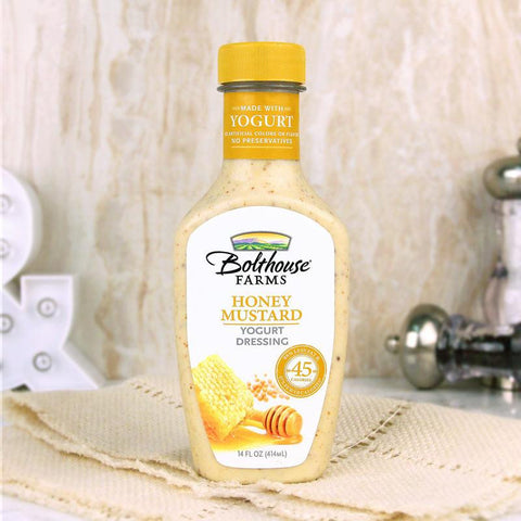 Bolthouse Farms Honey Mustard Yogurt Dressing - Milk and Eggs