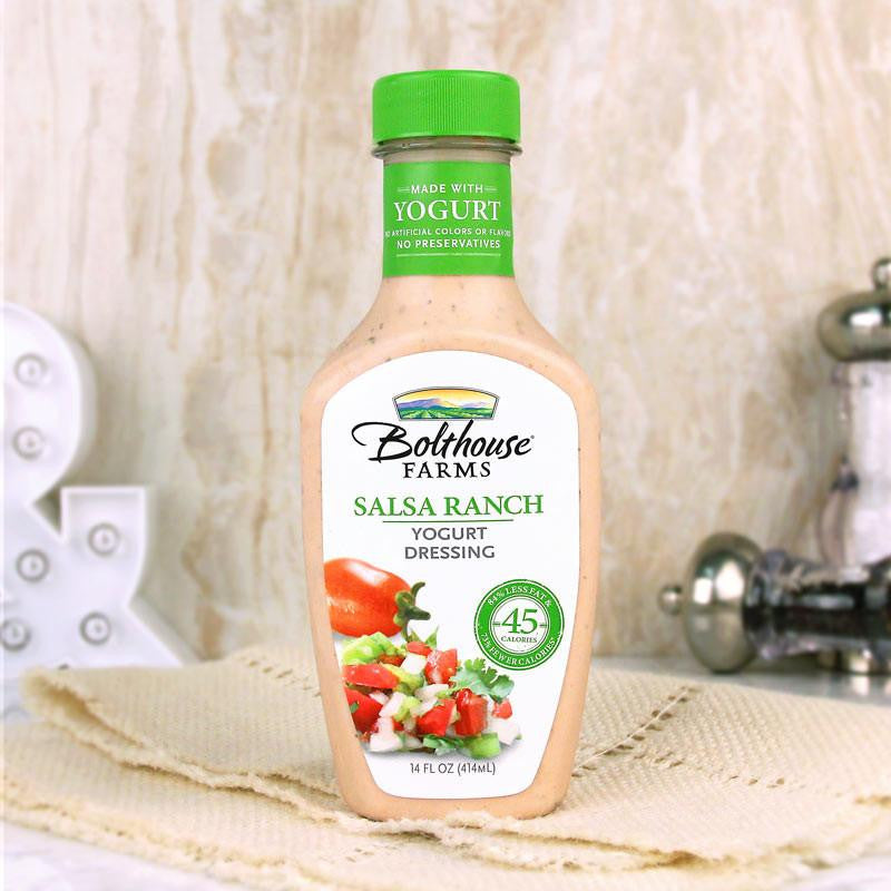 Bolthouse Farms Salsa Ranch Yogurt Dressing - Milk and Eggs