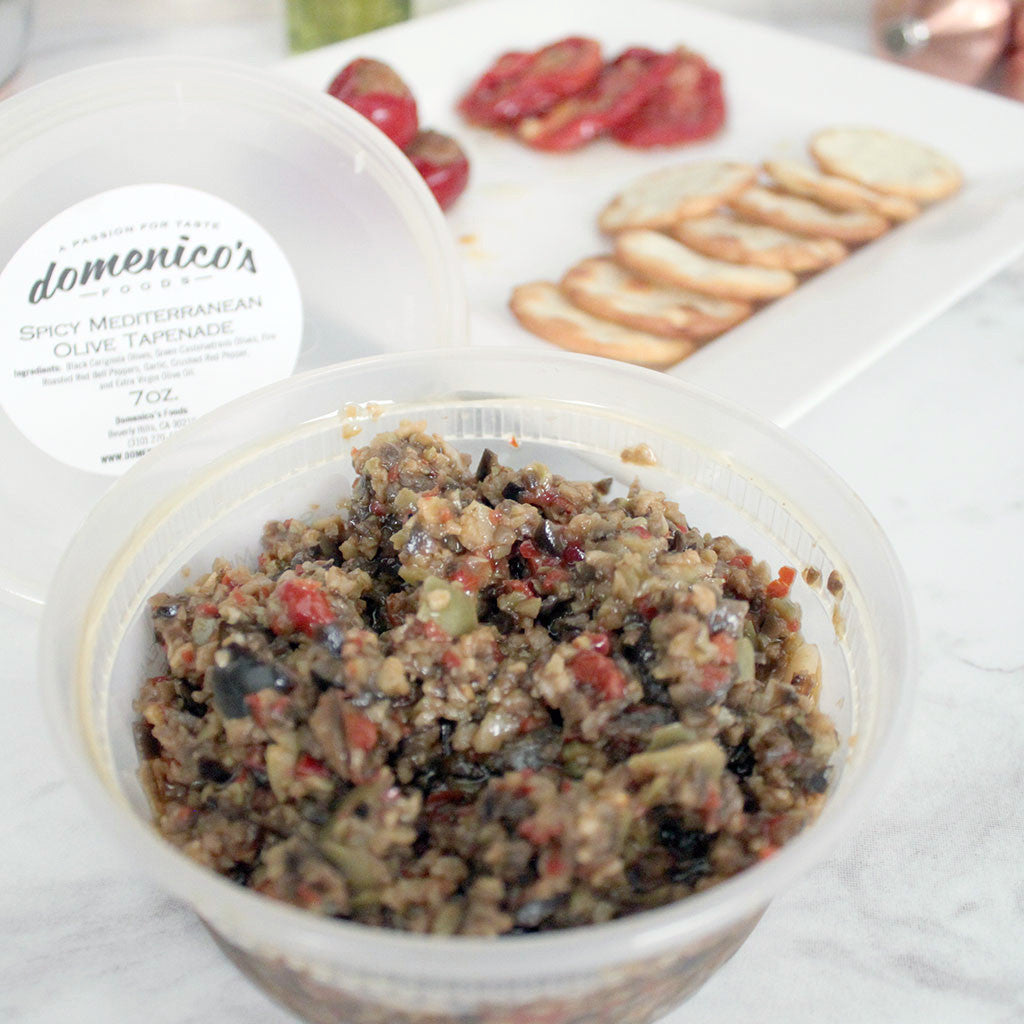 Domenico's Mediterranean Olive Tapenade 7oz - Milk and Eggs - 1