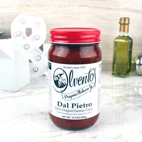 Ilvento's Proprio Italiano Dal Pietro Sauce 16 OZ - Milk and Eggs - 1