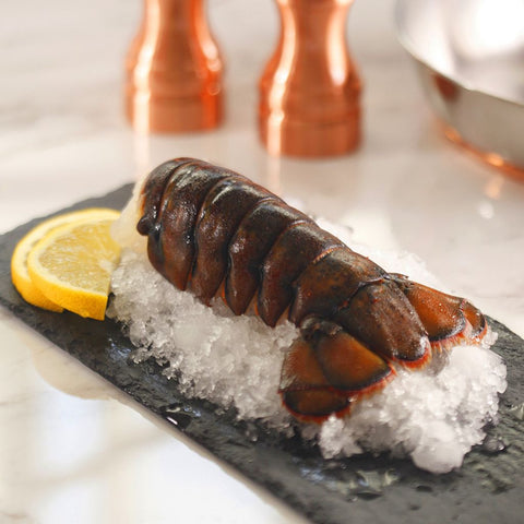 Maine Lobster Tail Frozen 8 oz - Milk and Eggs