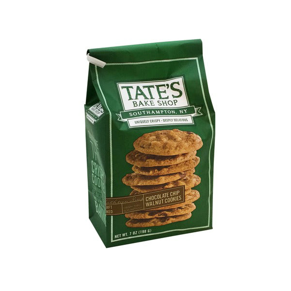 Tate's Bake Shop Cookies Chocolate Chip Walnut