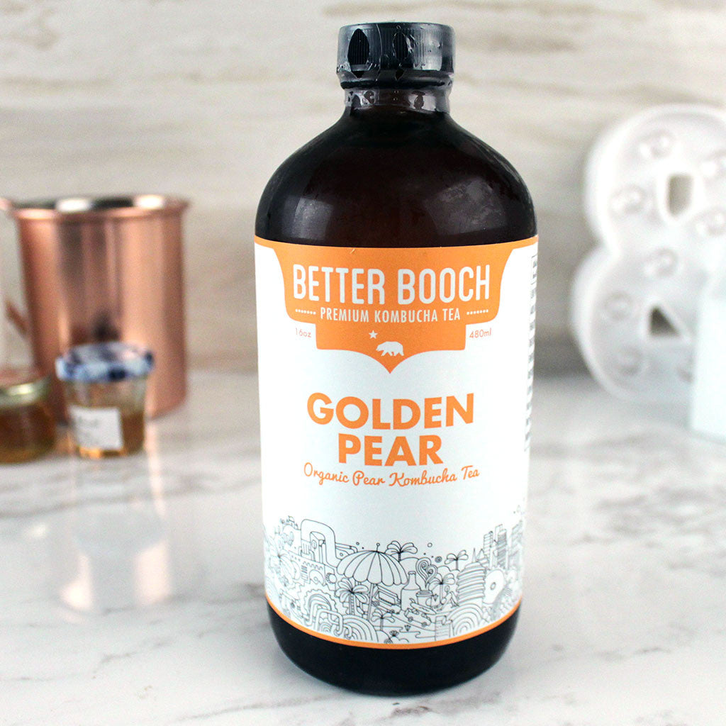 Better Booch Golden Pear - Milk and Eggs - 1