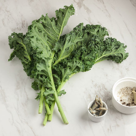 Kale Green - Milk and Eggs
