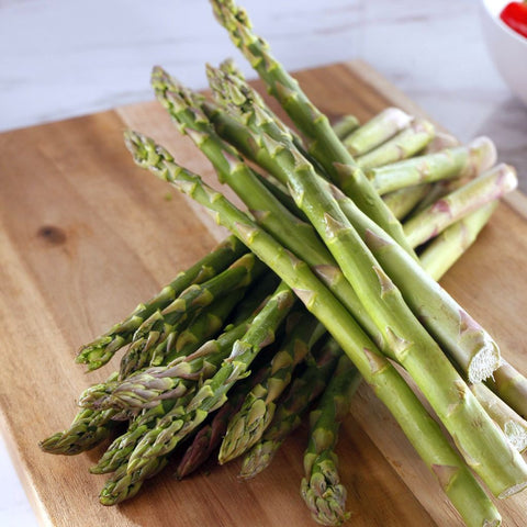 Organic Asparagus - Milk and Eggs
