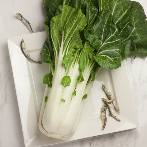 Organic Bok Choy - Milk and Eggs
