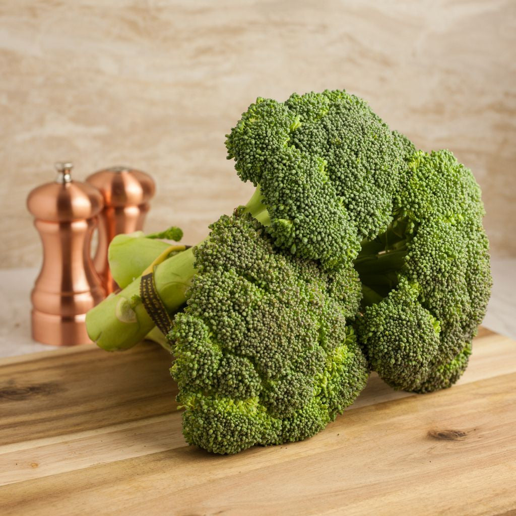 Organic Broccoli Bundle - Milk and Eggs