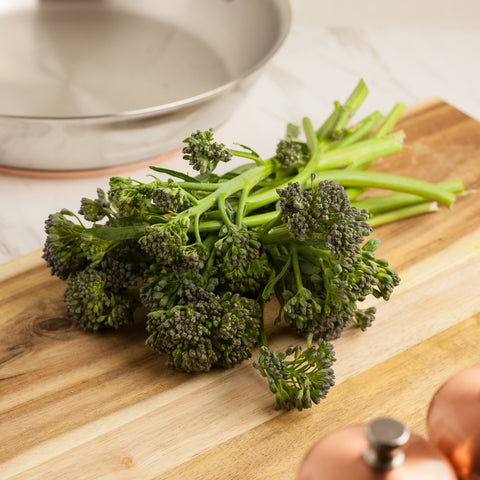 Organic Broccolini - Milk and Eggs