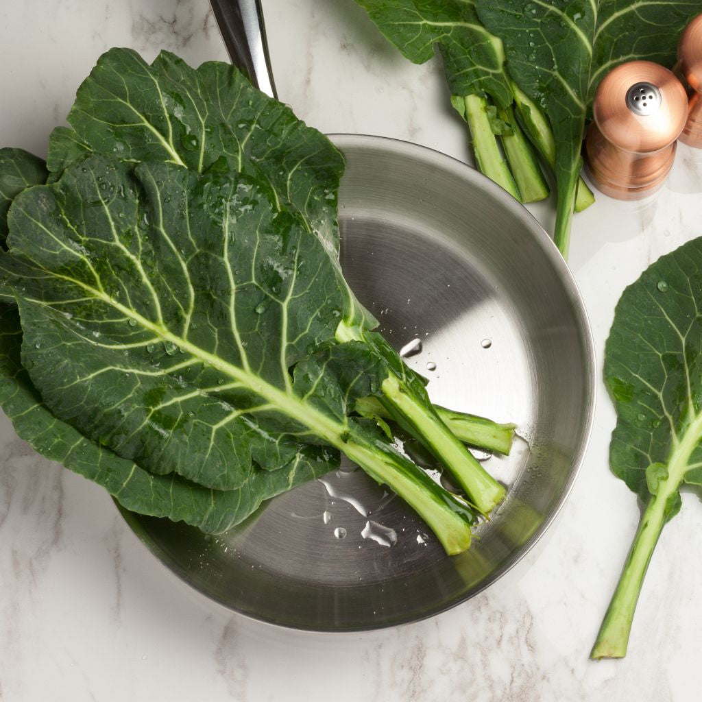 Organic Collard Greens - Milk and Eggs