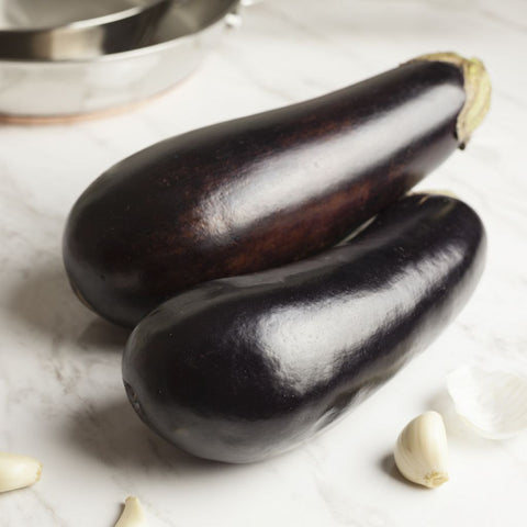 Organic Eggplant - Milk and Eggs