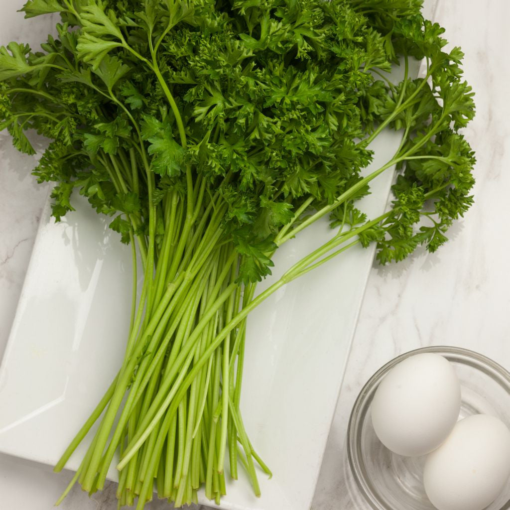 Organic Parsley Curly - Milk and Eggs