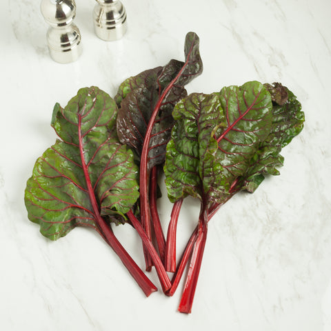 Organic Red Chard - Milk and Eggs