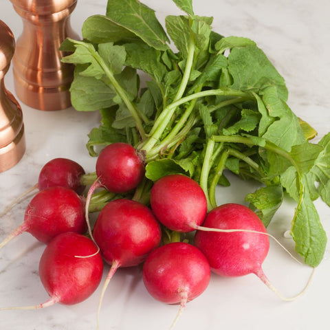 Organic Red Radish Bunch - Milk and Eggs