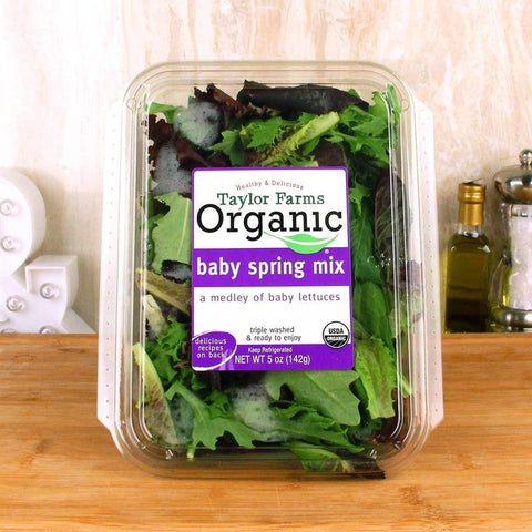 Vegetable - Taylor Farms Organic Baby Spring Mix Salad