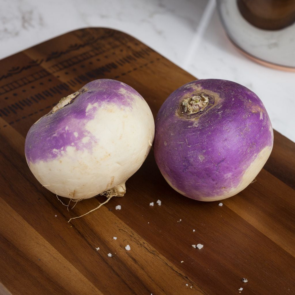 Turnip Purple Top - Milk and Eggs