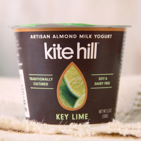 Yogurt - Kite Hill Organic Almond Milk Yogurt Key Lime