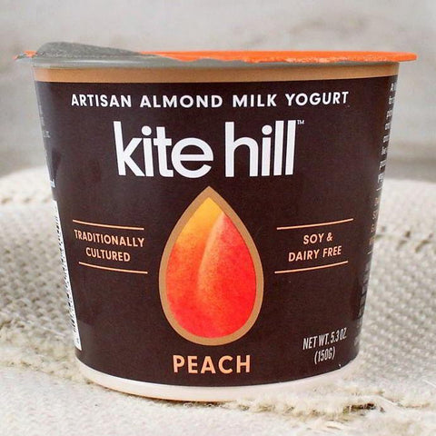 Yogurt - Kite Hill Organic Almond Milk Yogurt Peach