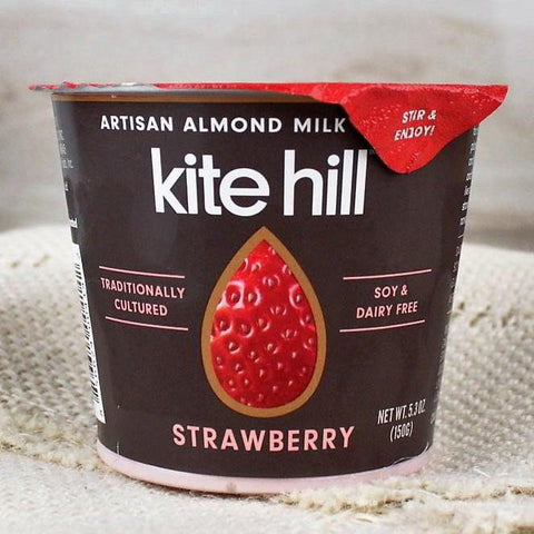 Yogurt - Kite Hill Organic Almond Milk Yogurt Strawberry