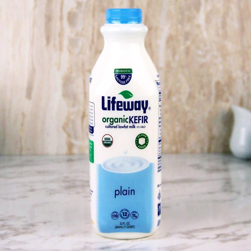 Yogurt - Lifeway Organic Kefir Lowfat Plain 32 Oz