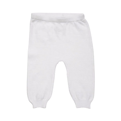 baby summer pant in white