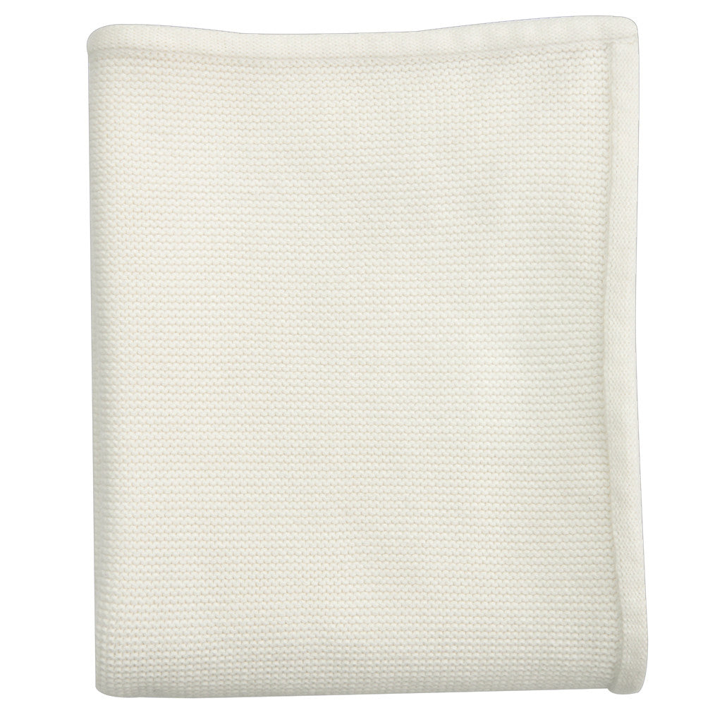 antique white baby blanket unisex