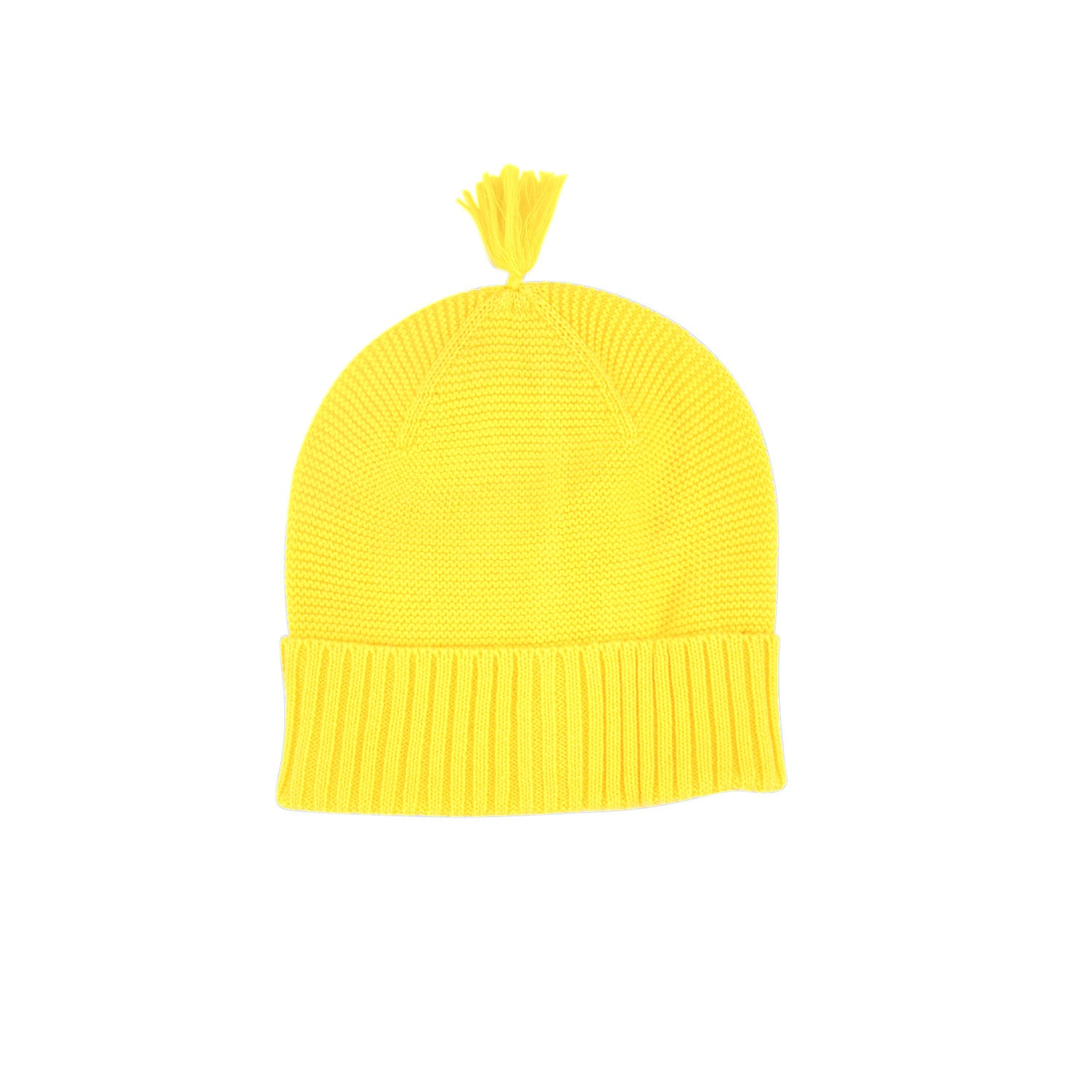 sunshine yellow beanie