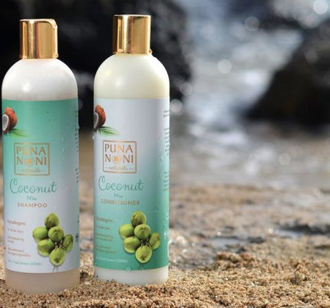 COCONUT SHAMPOO & CONDITIONER