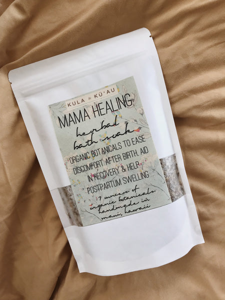 MAMA HEALING HERBAL BATH SOAK