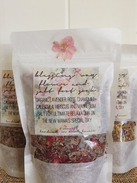 BLESSING WAY FLOWER AND SALT FOOT SOAK
