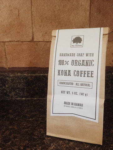ORGANIC KONA COFFEE SOAP