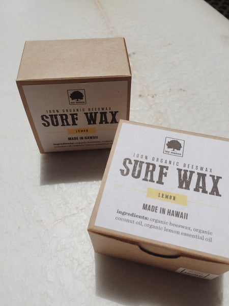 ORGANIC BEESWAX SURF WAX
