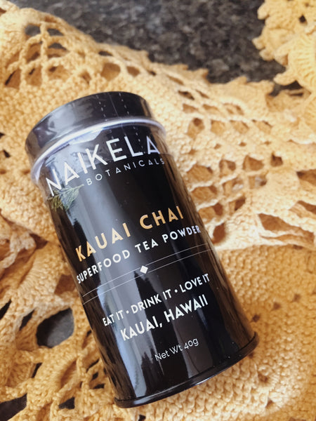 KAUAI CHAI SUPERFOOD TEA POWDER