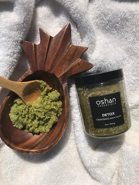 DETOX 'OMA'OMA'O BODY POLISH