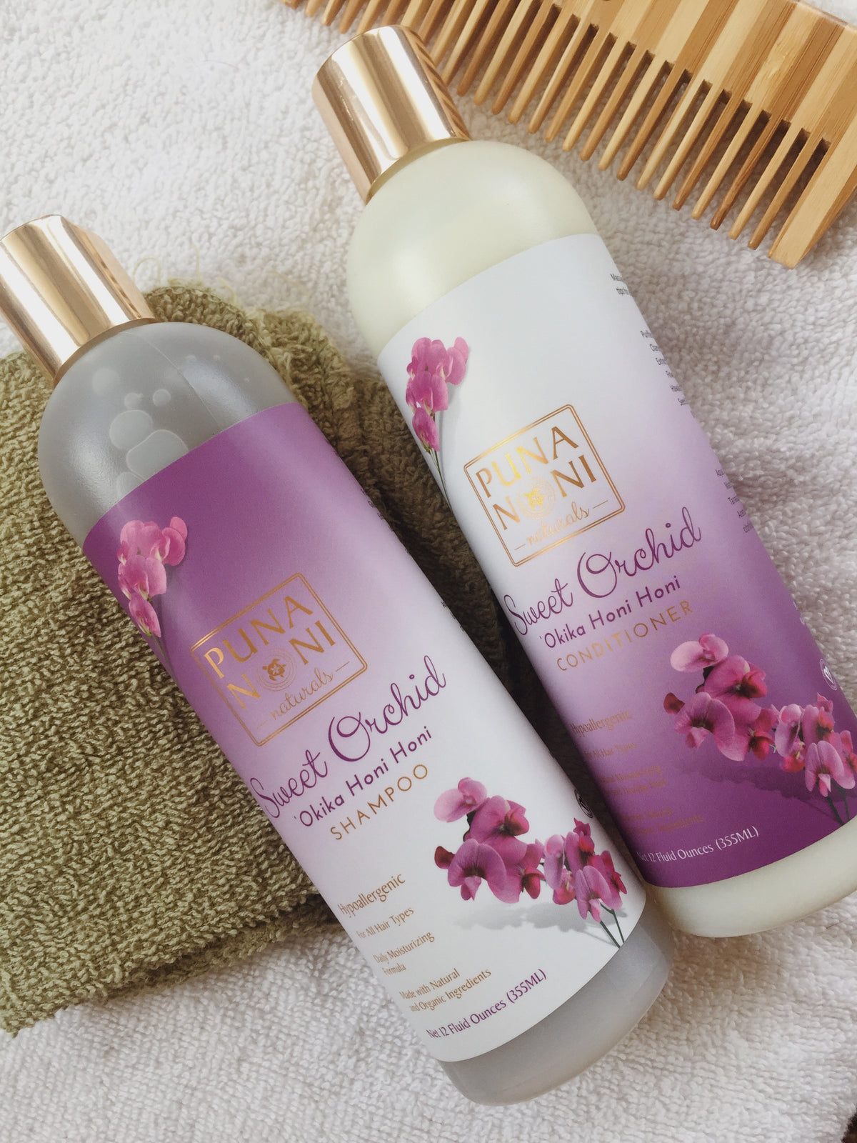 SWEET ORCHID SHAMPOO & CONDITIONER