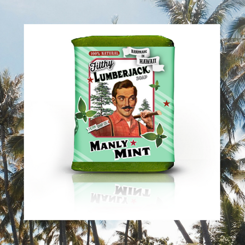 MANLY MINT SOAP