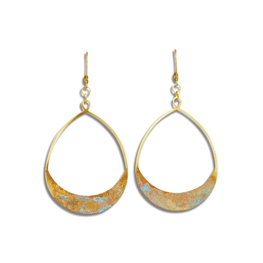 Teardrop Perch Earring