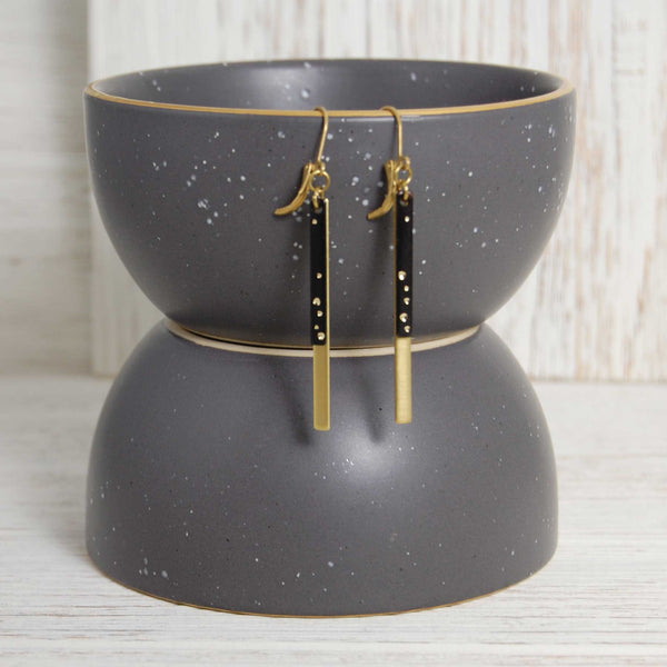 Layered Starry Night Earring