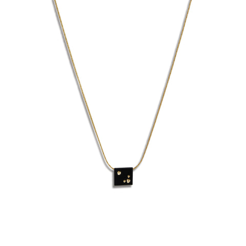 Starry Night Petite Billet Necklace